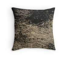 Rocky Wall Pattern Throw Pillow