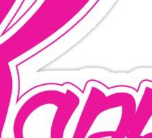 Kappa (Special K) Logo - Pink Sticker