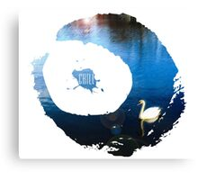 Chill Swan Lake Canvas Print