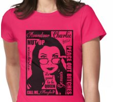 spn Charlie Bradbury  Womens Fitted T-Shirt