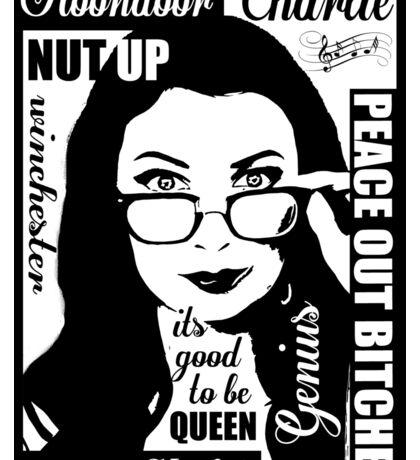 spn Charlie Bradbury  Sticker