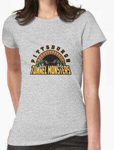 Pittsburgh Tunnel Monsters Womens Fitted T-Shirt