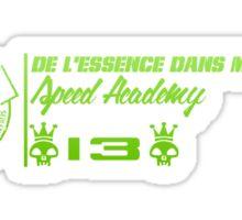 DLEDMV - Speed Academy Green Sticker