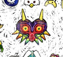 Majora's Masks Sticker