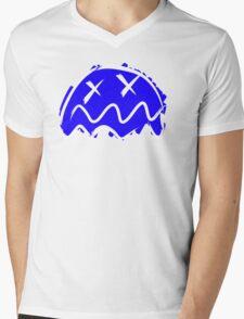 Ghost! Puckman. Mens V-Neck T-Shirt