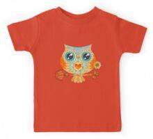 Owl's Summer Love Letters Kids Tee