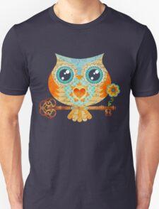 Owl's Summer Love Letters Unisex T-Shirt