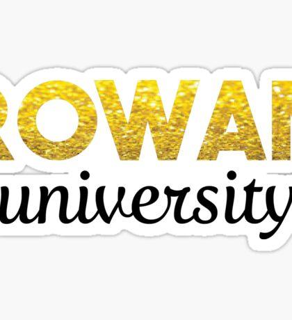 Rowan University  Sticker