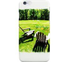 Nature Gaze Together iPhone Case/Skin
