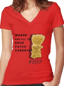 #DEEP Women's Fitted V-Neck T-Shirt