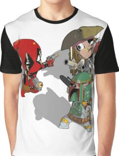 Mexican Standoff Graphic T-Shirt