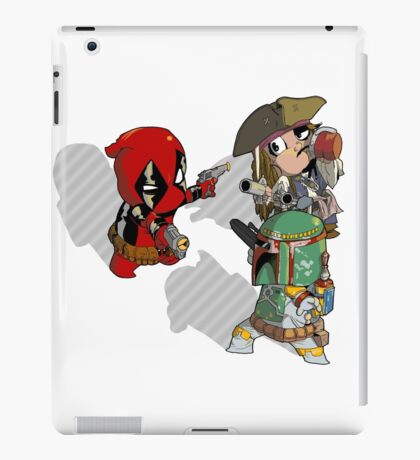 Mexican Standoff iPad Case/Skin