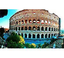 Il Colosseo  Photographic Print