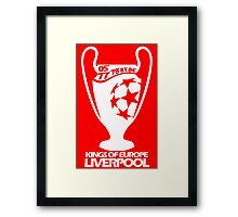 Liverpool Champions League Framed Print