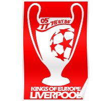 Liverpool Champions League Poster