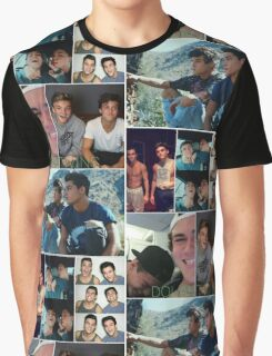 Dolan twins collage 3 Graphic T-Shirt
