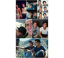 Dolan twins collage 3 Photographic Print