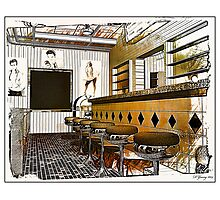 Vintage Diner Photographic Print