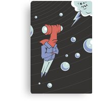 Sharkbait: A Journey Through Time and Space Canvas Print