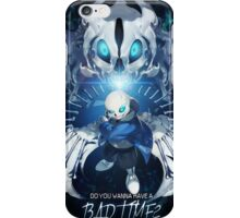 Bad Time - Sans iPhone Case/Skin