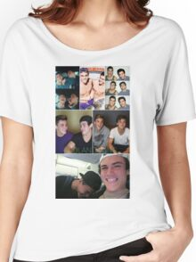 Dolan twins collage 4  Women's Relaxed Fit T-Shirt