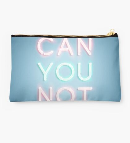Can You Not Studio Pouch