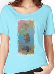Three Little Hamsters Women's Relaxed Fit T-Shirt