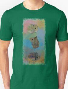 Three Little Hamsters Unisex T-Shirt