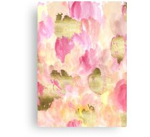 Gold Tulips Canvas Print