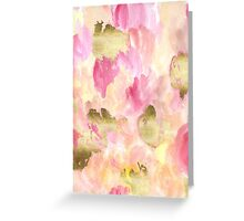 Gold Tulips Greeting Card