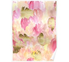 Gold Tulips Poster