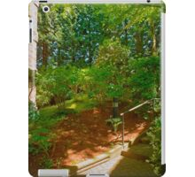 Up from Home, Spring, Vancouver BC iPad Case/Skin