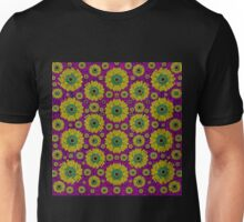 Sunroses mixed with stars in a moonlight serenade Unisex T-Shirt