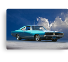 1969 Dodge Charger R/T 'American Muscle' Canvas Print
