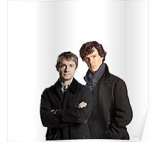 BBC Sherlock- John And Sherlock Poster