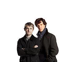 BBC Sherlock- John And Sherlock Photographic Print