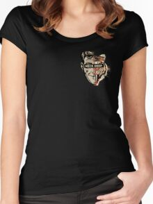Neck Deep Rain in July/Head to the Ground Split Women's Fitted Scoop T-Shirt