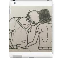 Loving couple  iPad Case/Skin