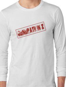 Generation Z Stamp Long Sleeve T-Shirt