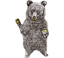 Oh, Hi Bear! Photographic Print