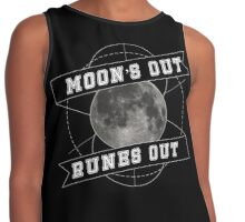 Moon's Out - Runes Out Contrast Tank