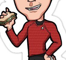 "Star Trek Reboot - Montgomery Scott ""Scotty"" Simon Pegg Sticker"