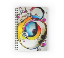 Watercolor and ink Spiral Notebook