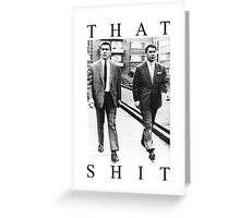 Kray Greeting Card