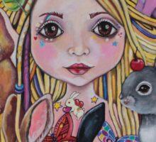 Lulu the Bunny Godmother Sticker