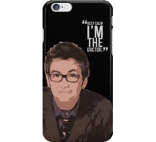 Keep Calm The 10th Doctor is Here iPhone Case/Skin