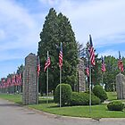 The Avenue of 444 Flags by Jack Ryan