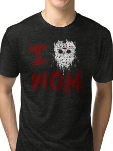 Momma's Boy Tri-blend T-Shirt