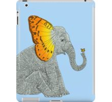 Elephant and Butterfly iPad Case/Skin