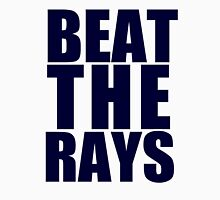 Boston Red Sox - BEAT THE RAYS - Blue Text Unisex T-Shirt